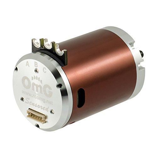 RCOMG Brushless Sensored Motor 2 Poles 540-3850kv-95T apply to 110 Scale Rc Drift CarTouring Car On-Road Car