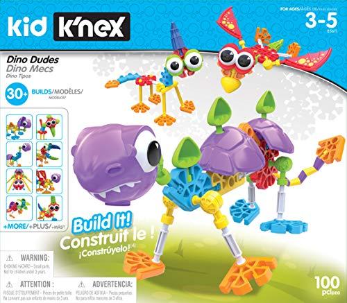Kid KNEX Dino Dudes Building Set - Ages 3 - Preschool Creative Toy