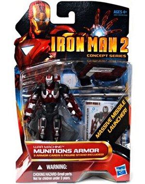 Marvel Iron Man 2 Movie Figure War Machine Munitions Armor 19