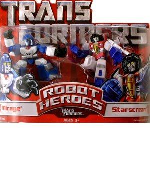 Robot Heroes Wave 01 Mirage Vs Starscream