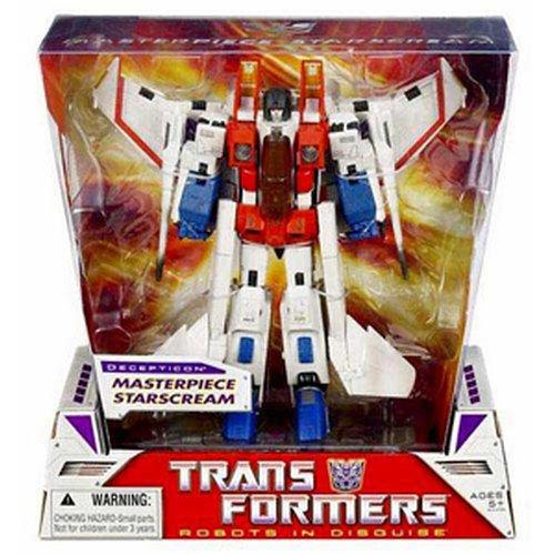 Transformers Masterpiece Starscream G1 White