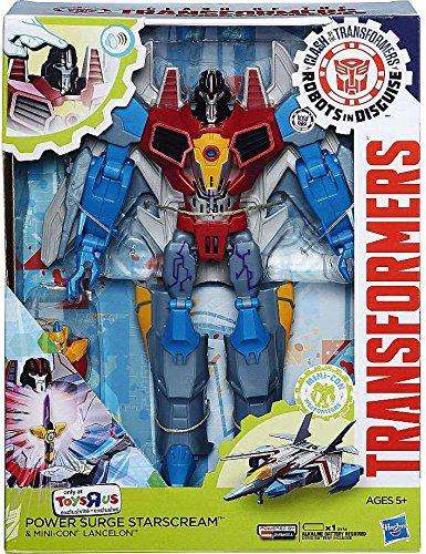 Transformers Robots in Disguise Power Surge Starscream Mini-Con Lancelon Exclusive Action Figures