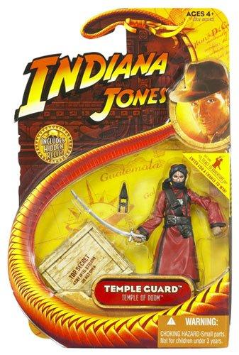 Indiana Jones Movie Hasbro Series 4 Action Figure Temple Guard Temple of Doom