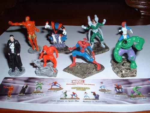 Marvel Super Hero Figure Buildable Set
