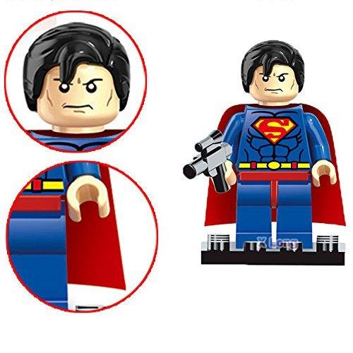 SuSenGo 8pcs Super Hero Minifigures Kid Baby Toy Building Blocks Set