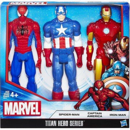 Titan Hero Series 3-Pack Includes Three Marvel Super Hero Figures
