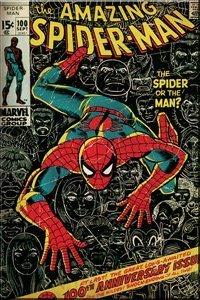 Spider-Man Comic Cover -- Marvel Comics Magnet by Marvel Comics Toy Biz
