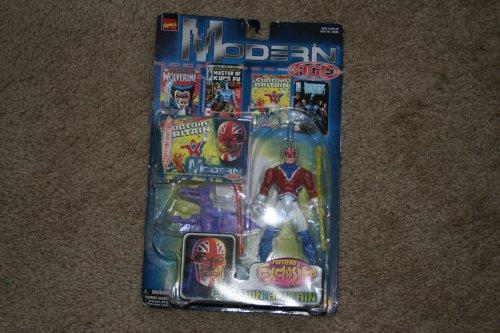 Toy Biz Marvel Comics Modern Age Captian Britian Previews Exclusive