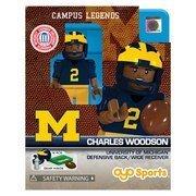 NCAA Oyo Sports Michigan Wolverines Charles Woodson Mini Figurine  One Size  Multi  NCAA