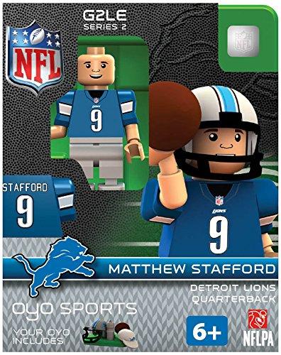 NFL Oyo Sports Detroit Lions Matthew Stafford Series 2 Minifigure