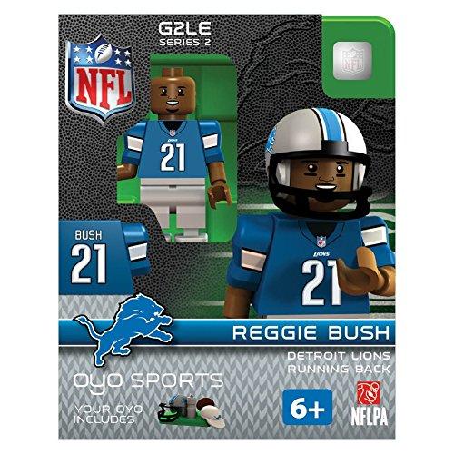 NFL Oyo Sports Detroit Lions Reggie Bush Series 2 Minifigure