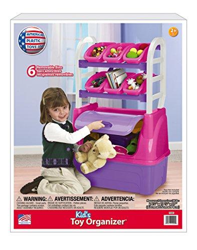 American Plastic Toys Girls Toy Organizer Playset
