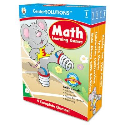 CDP140051 - Carson Dellosa Math Learning Games