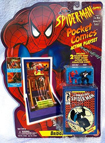 Marvel Spiderman Pocket Comics Action Playset The Bridge