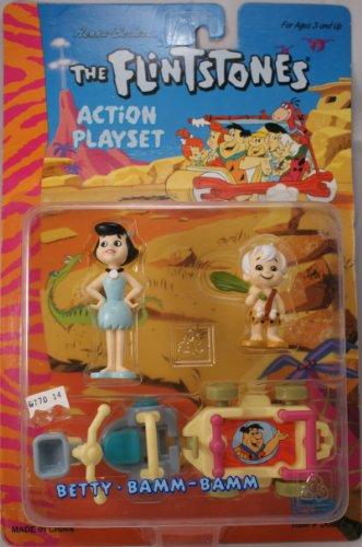 The Flintstones Action Playset Wilma Pebbles