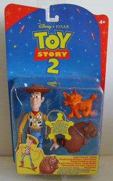 Disney Pixar Toy Story 2 Ropin Rescue Woody Action Figure