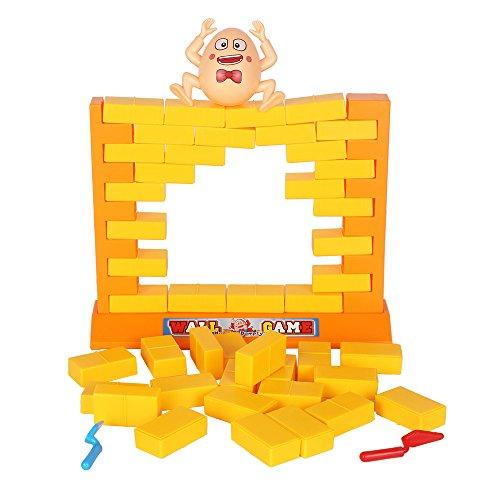 LUCKSTARÂ Wall Game Building Block Humpty Dumptys Wall Game Toy Intelligence Toy Building Block for Kids -Dont Dump Dumpty