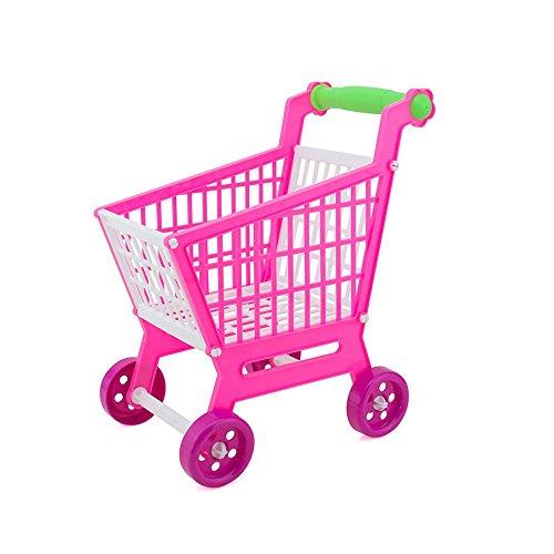 Kasstino Handcart Shopping Cart Supermarket Utility Mode Storage Gift Baby Kid Toy Holder
