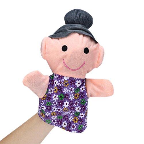 Mandy 25CM Home Family Finger Infant Kid Toy Plush Toys For Baby Kids D