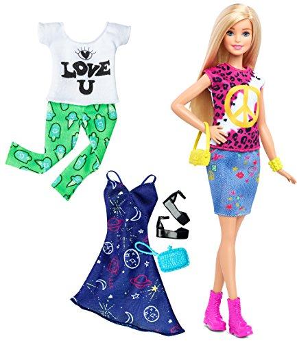 Barbie Fashionistas Doll Fashions Peace Love Blonde