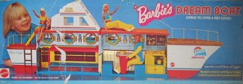 Vintage Barbie DREAM BOAT Chris Craft Style CRUISER Ship Over 4 Feet Long 1974 Mattel Hawthorne