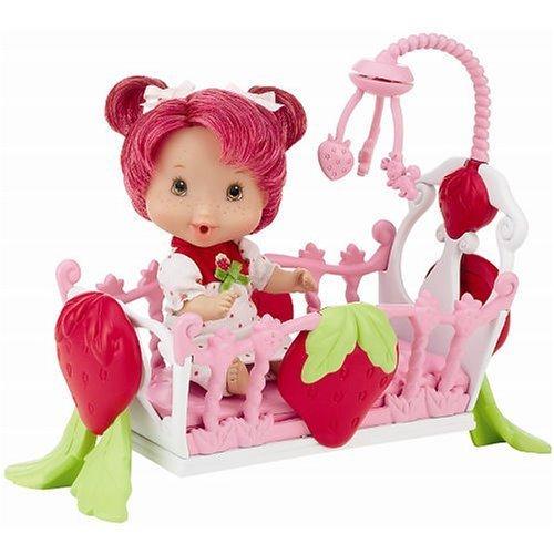 PlayMates Berry Lil Babies Strawberry Shortcake Sleepy Time Doll