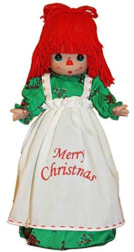 Precious Moments Raggedy Ann Doll Christmas Tree Topper