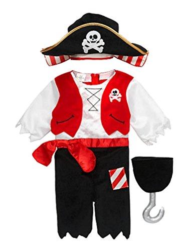 Koala Kids Boys Pirate Costume - 6m