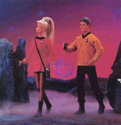 Barbie Ken Star Trek Giftset 30th Anniversary Collector Edition 1996