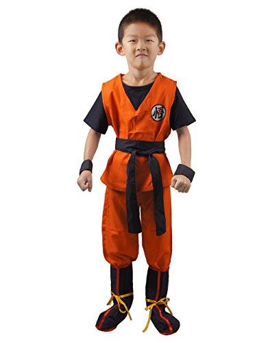 Dragon Ball Son Goku Kids Cosplay Costume S