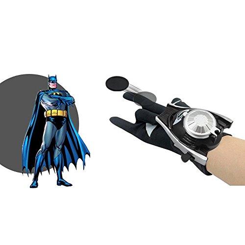PVC 24cm Batman Glove Action Figure Batman Launcher Toy Kids Cosplay Costume