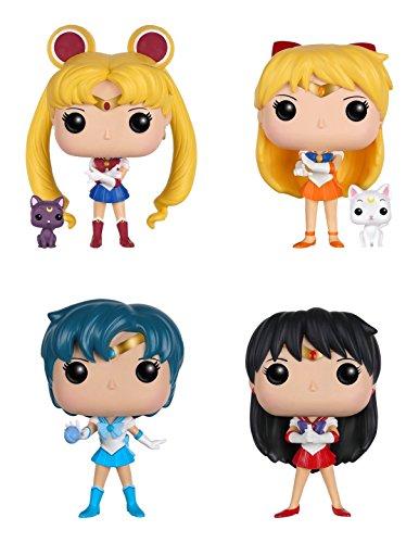 Funko Sailor Moon POP Anime Action Figure Collectors Set