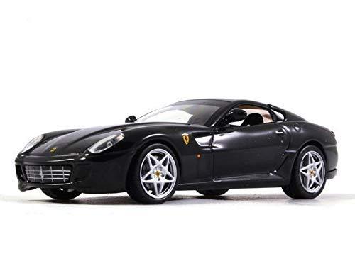 Ferrari 599 GTB Fiorano Black 143 Scale Diecast Model Sports Car 2006 Year