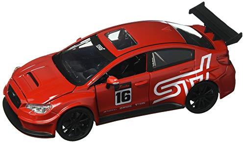 Jada 124 JDM Tuners 2016 Subaru WRX STI Widebody Diecast Model Sport Car Red
