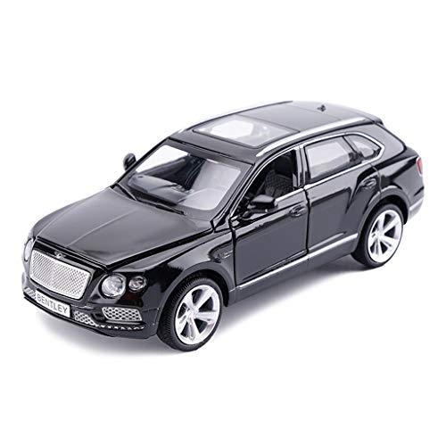 QARYYQ Car Model Car 132 Bentley Bentayga Simulation Alloy Die-Casting Toy Jewelry Sports Car Collection Jewelry 155x55x55CM Car Storage Box Color  Black