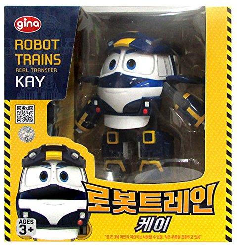 Robot Train KAY RT Transformer Train Robot Toy CarKorea Character Action Figure item G4W8B-48Q54257