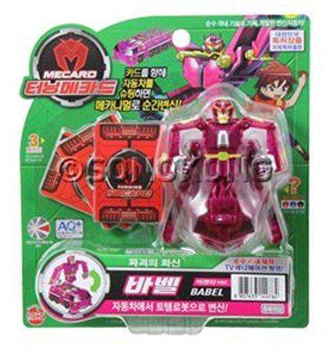 TURNING MECARD Babel Transformer CAR Robot Korean TV Animation Character Toy ITEMG839GJ UY-W8EHF3191082