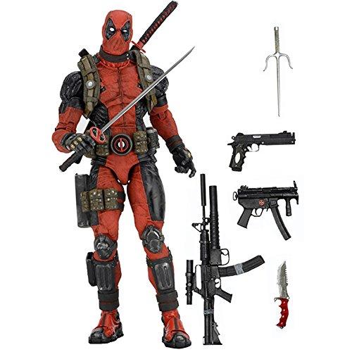 NECA Marvel Classics Deadpool 14 Scale Action Figure