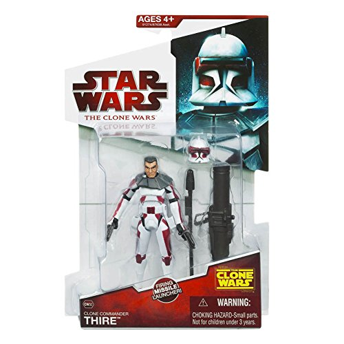Clone Commander Thire CW32 Star Wars Clone Wars Action Figure