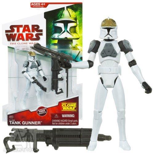 Clone Tank Gunner CW36 Star Wars Clone Wars Action Figure