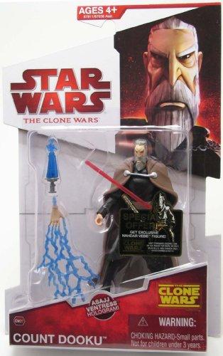 Hasbro Count Dooku CW27 Star Wars Clone Wars Action Figure