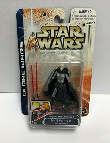 SW Asajj Ventress Sith Apprentice Star Wars Clone Wars Action Figure