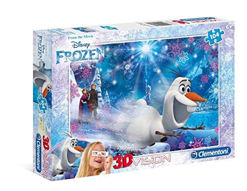 Clementoni 3D Frozen Puzzle 104 Piece