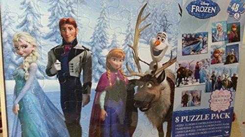 Disney Frozen 8 Puzzle Pack
