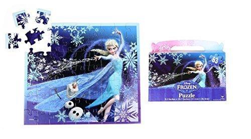 Disney Frozen Floor Puzzle Gift Box 63-Piece 91 X 103