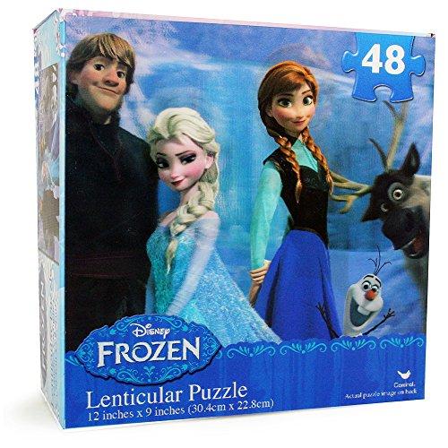 Disney Frozen Lenticular Puzzle 48-piece