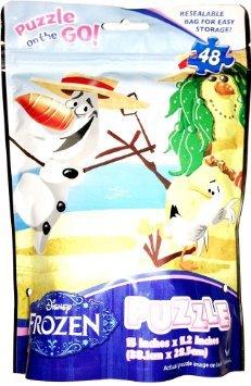 Disney Frozen Olaf Puzzle on the Go - 48 Piece