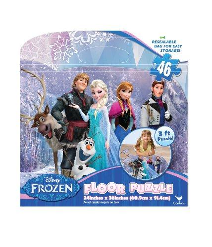 Frozen Floor Puzzles 46-Piece