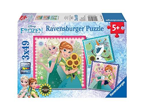 Ravensburger Frozen Fever Puzzles 3 x 49 Piece