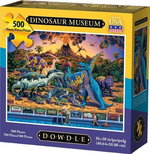 Dowdle Jigsaw Puzzle - Dinosaur Museum - 500 Piece